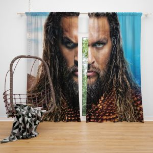 Aquaman Movie Jason Momoa Window Curtain