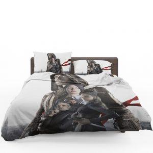 Assassin's Creed Movie Michael Fassbender Cal Lynch Aguilar Marion Cotillard Bedding Set 1