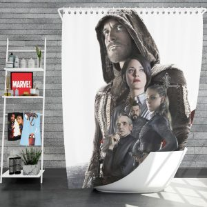 Assassin's Creed Movie Michael Fassbender Cal Lynch Aguilar Marion Cotillard Shower Curtain