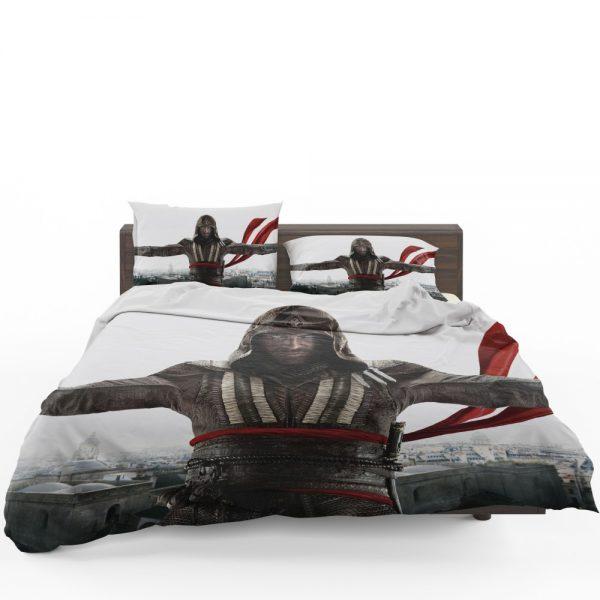 Assassin's Creed Movie Michael Fassbender Marion Cotillard Bedding Set 1