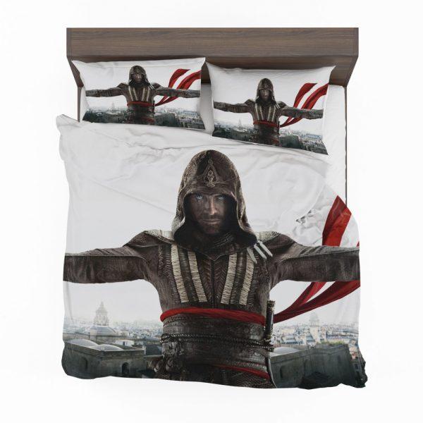 Assassin's Creed Movie Michael Fassbender Marion Cotillard Bedding Set 2