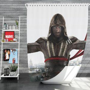 Assassin's Creed Movie Michael Fassbender Marion Cotillard Shower Curtain