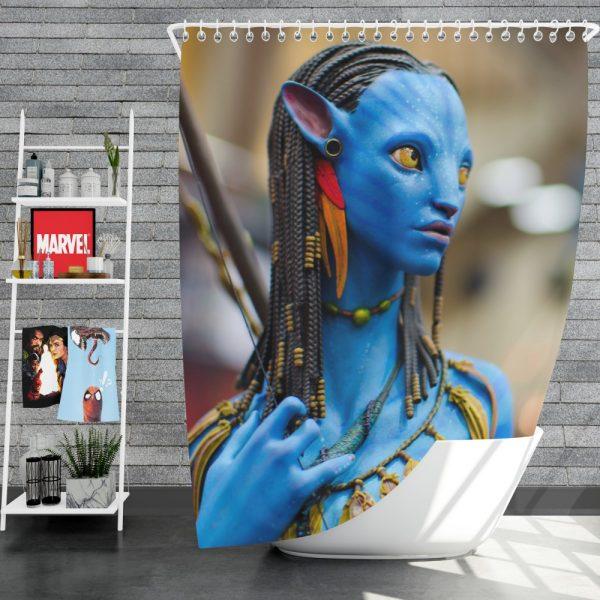 Avatar Movie Jake Sully Shower Curtain
