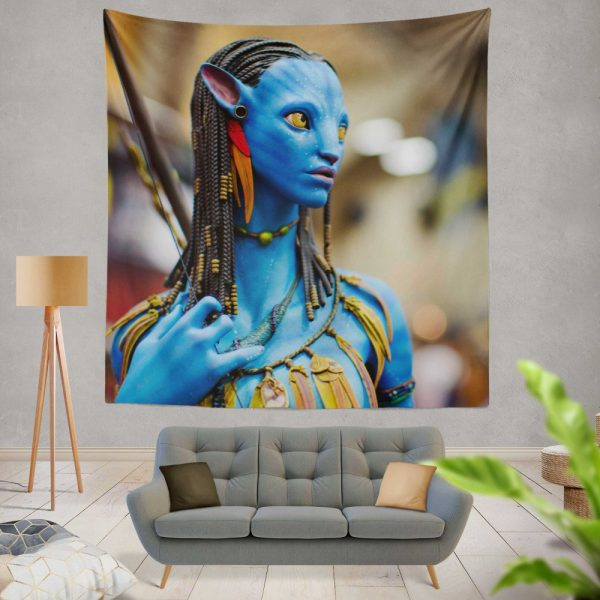 Avatar Movie Jake Sully Wall Hanging Tapestry