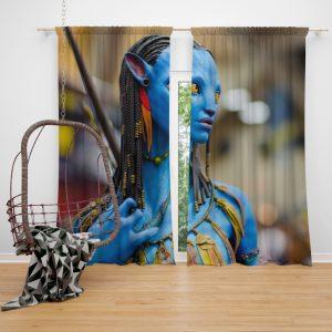 Avatar Movie Jake Sully Window Curtain