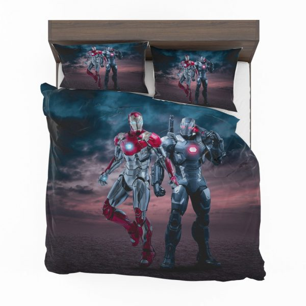 Avengers Age of Ultron Movie Iron Man War Machine Bedding Set 2