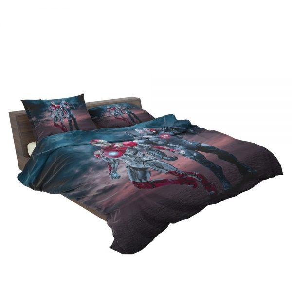 Avengers Age of Ultron Movie Iron Man War Machine Bedding Set 3
