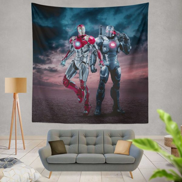 Avengers Age of Ultron Movie Iron Man War Machine Wall Hanging Tapestry