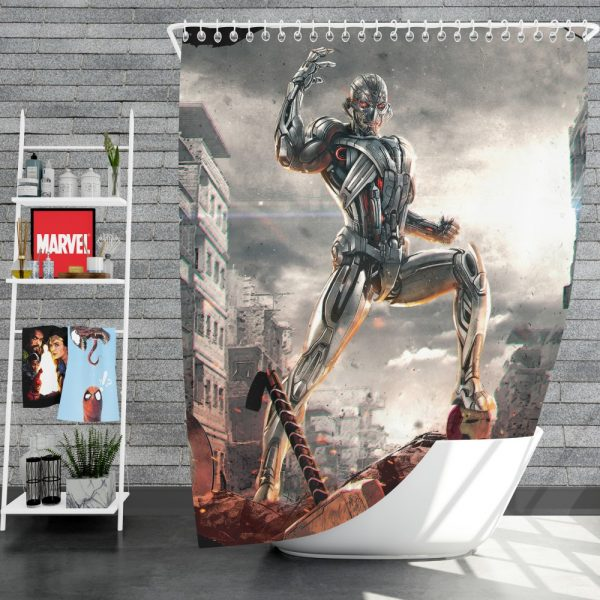 Avengers Age of Ultron Movie Shower Curtain