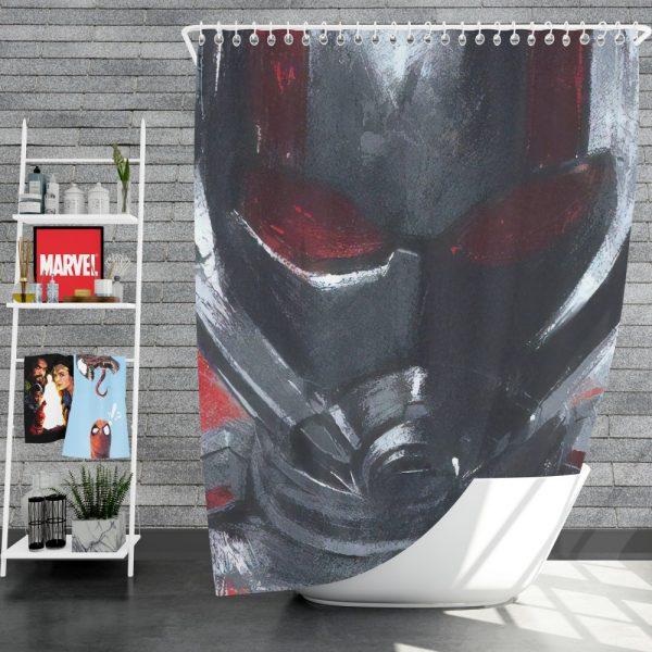 Avengers Endgame Movie Ant-Man Shower Curtain