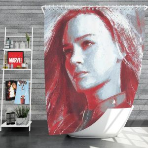 Avengers Endgame Movie Brie Larson Shower Curtain