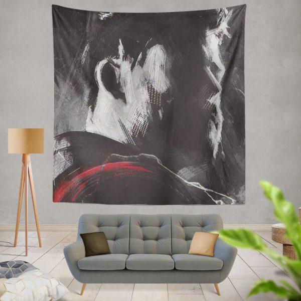 Avengers Endgame Movie Chris Hemsworth Thor Wall Hanging Tapestry
