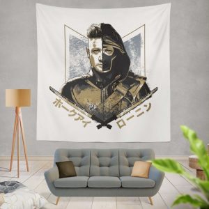 Avengers Endgame Movie Hawkeye Jeremy Renner Wall Hanging Tapestry