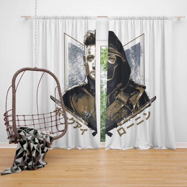 Avengers Endgame Movie Hawkeye Jeremy Renner Window Curtain