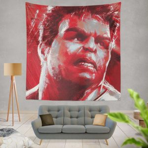 Avengers Endgame Movie Hulk Wall Hanging Tapestry