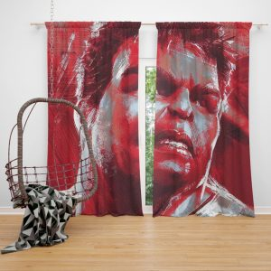 Avengers Endgame Movie Hulk Window Curtain