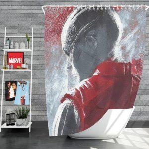 Avengers Endgame Movie Karen Gillan Nebula Marvel Comics Shower Curtain