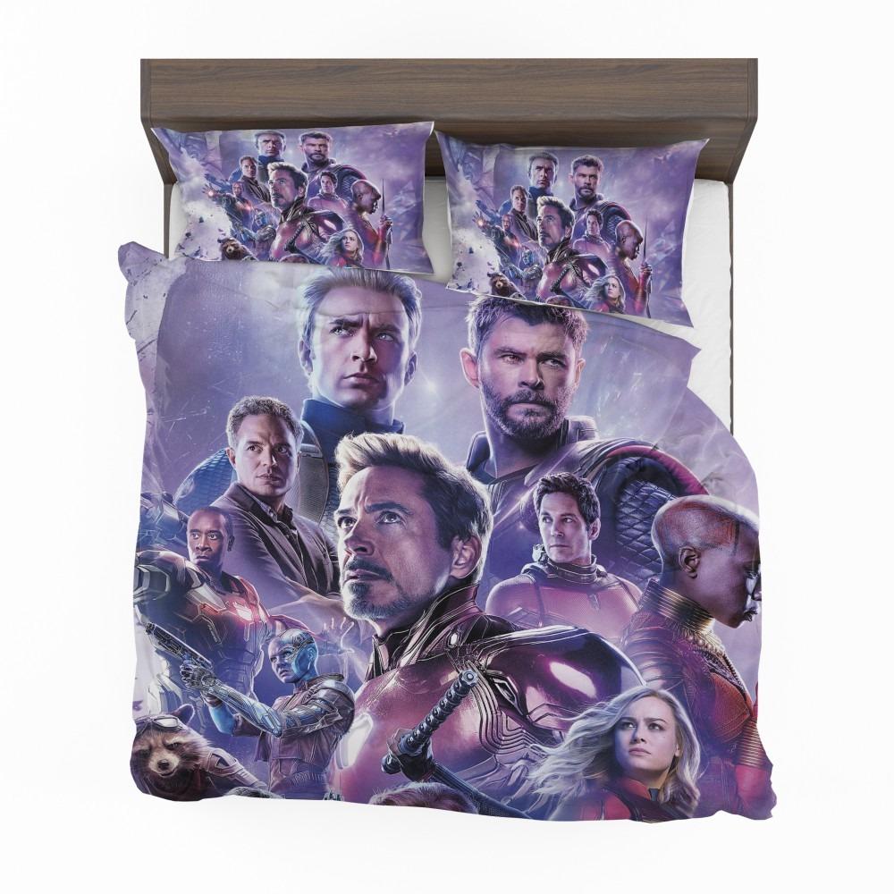 Avengers Endgame Movie Marvel Comics Bedding Set