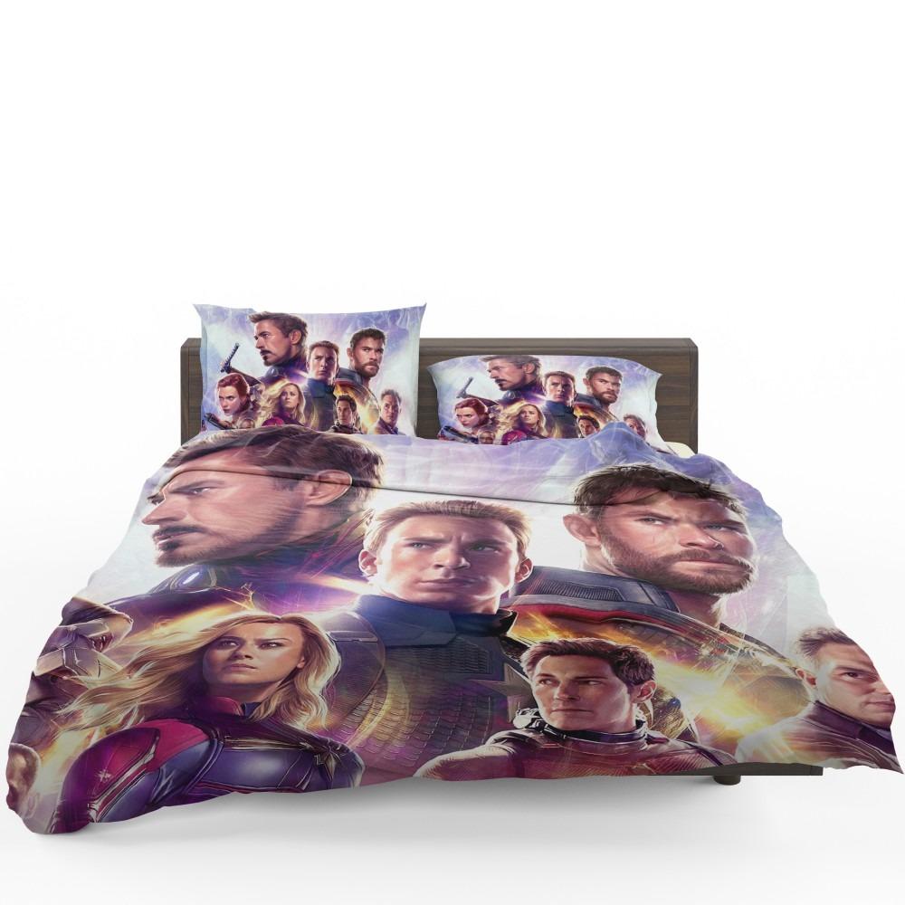 Avengers Endgame The Avengers Marvel Mcu Bedding Set