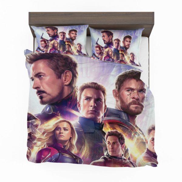 Avengers Endgame The Avengers Marvel MCU Bedding Set 2