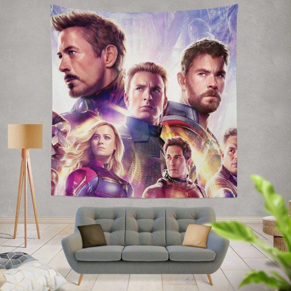 Avengers Endgame The Avengers Marvel MCU Wall Hanging Tapestry