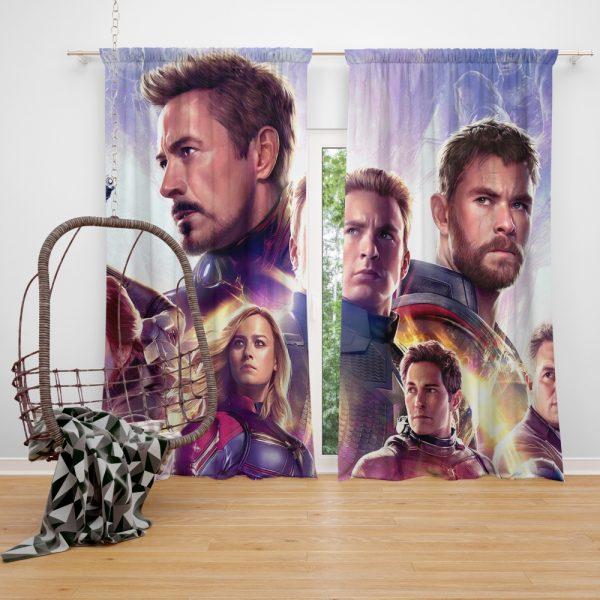 Avengers Endgame The Avengers Marvel MCU Window Curtain