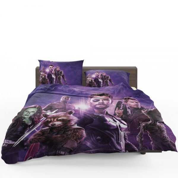 Avengers Infinity War Drax The Destroyer Star Lord Gamora Thor Groot Rocket Raccoon Bedding Set 1