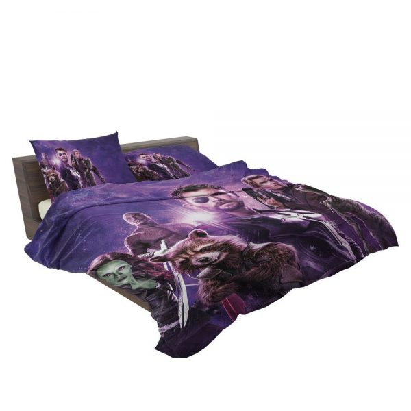 Avengers Infinity War Drax The Destroyer Star Lord Gamora Thor Groot Rocket Raccoon Bedding Set 3