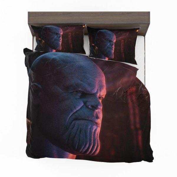 Avengers Infinity War Movie Marvel Comics Thanos Bedding Set 2