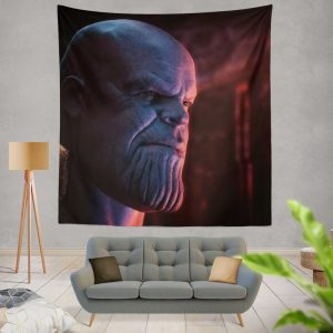 Avengers Infinity War Movie Marvel Comics Thanos Wall Hanging Tapestry