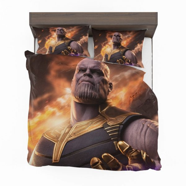 Avengers Infinity War Movie Thanos Bedding Set 2