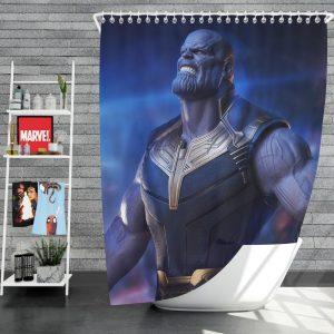 Avengers Infinity War Movie Thanos The Great Villain Shower Curtain