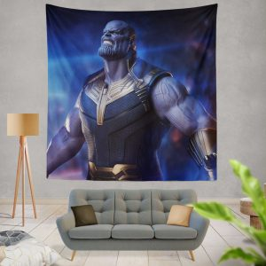 Avengers Infinity War Movie Thanos The Great Villain Wall Hanging Tapestry