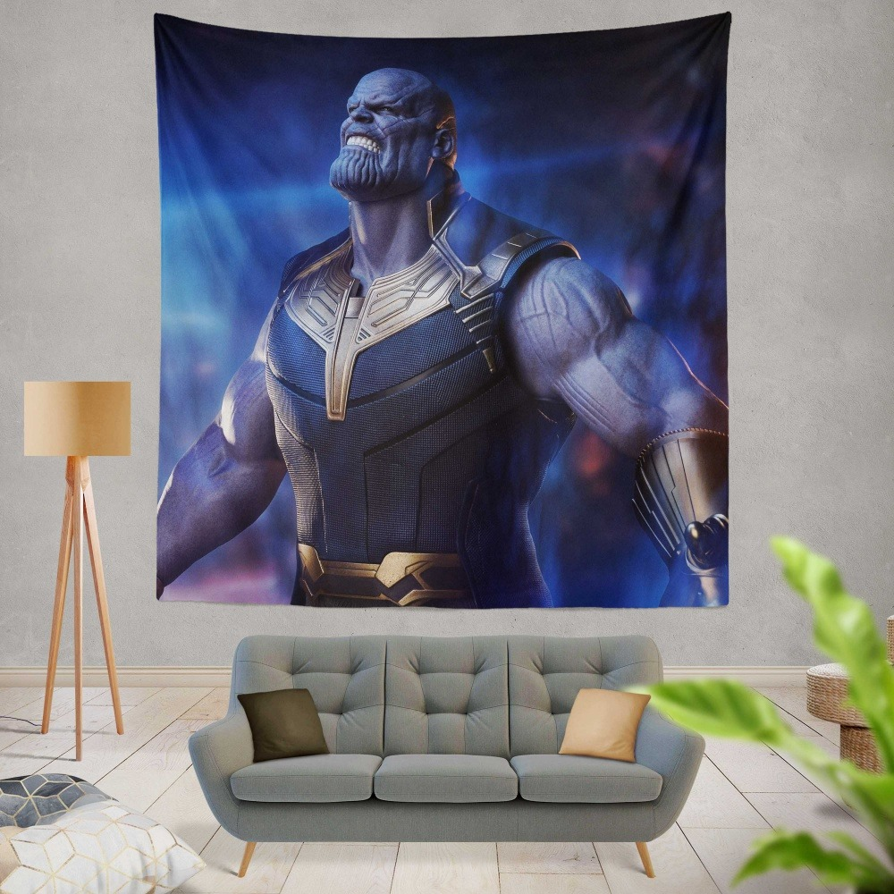 Avengers Infinity War Movie Thanos The Great Villain Wall