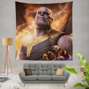 Avengers Infinity War Movie Thanos Wall Hanging Tapestry