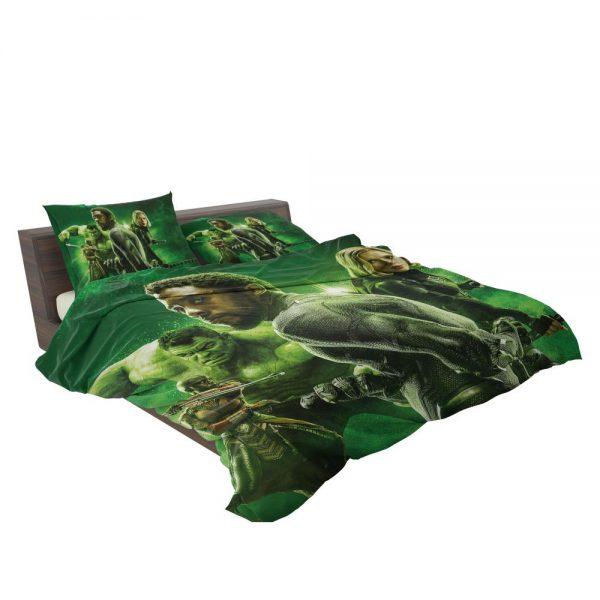 Avengers Infinity War Okoye Black Panther Black Widow Hulk Bedding Set 3