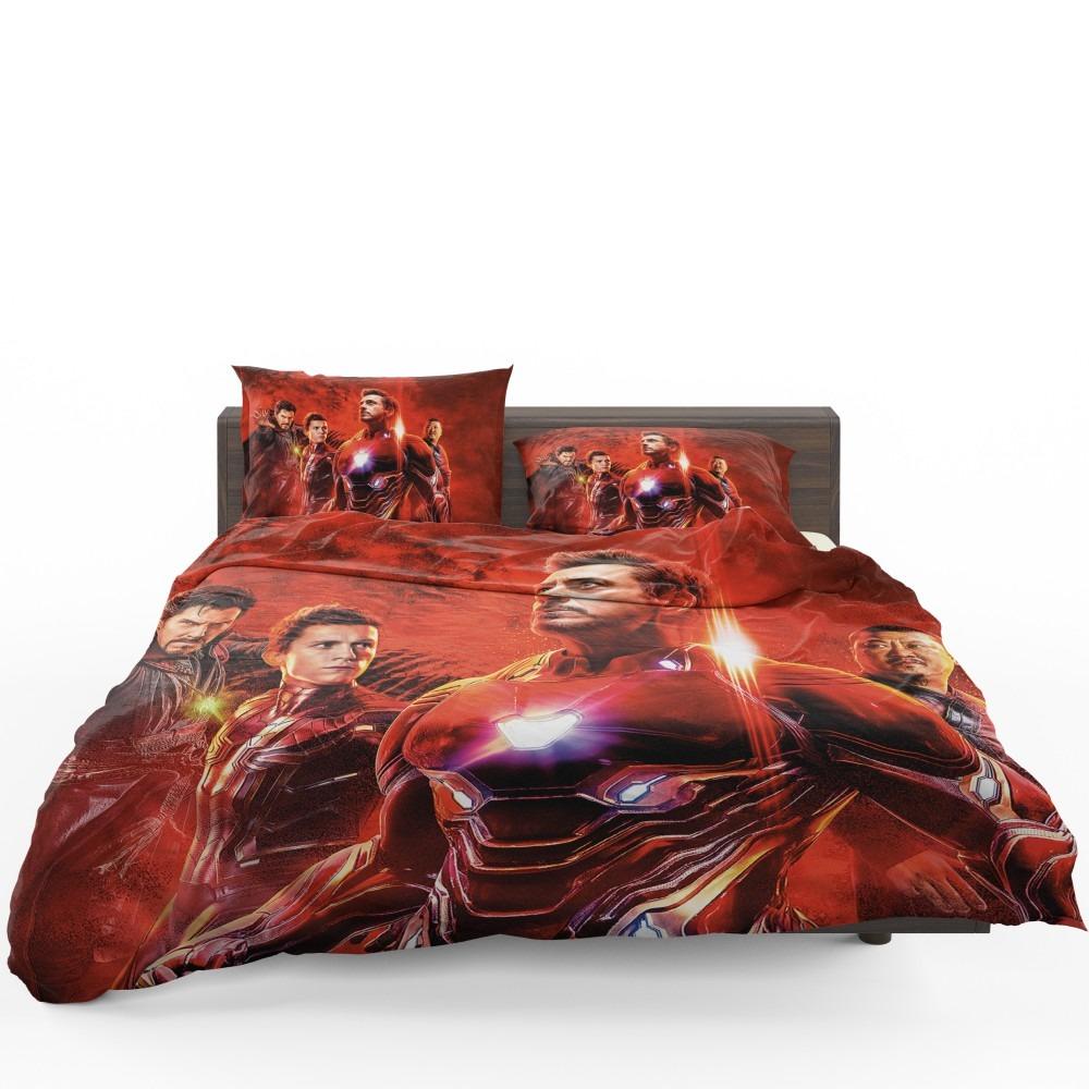Avengers Infinity War Spider Man Iron Man Doctor Strange