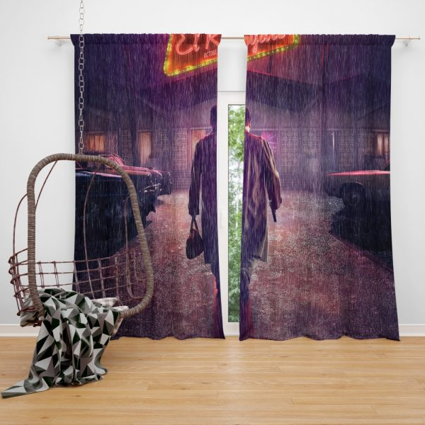 Bad Times at the El Royale Movie Window Curtain