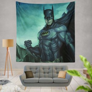 Batman Movie DC Comics Gothem City Wall Hanging Tapestry