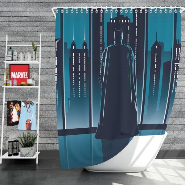 Batman Movie DC Comics Shower Curtain