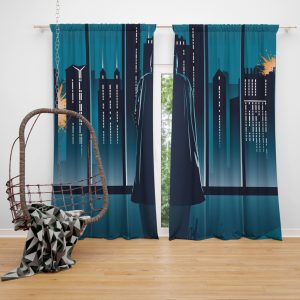 Batman Movie DC Comics Window Curtain