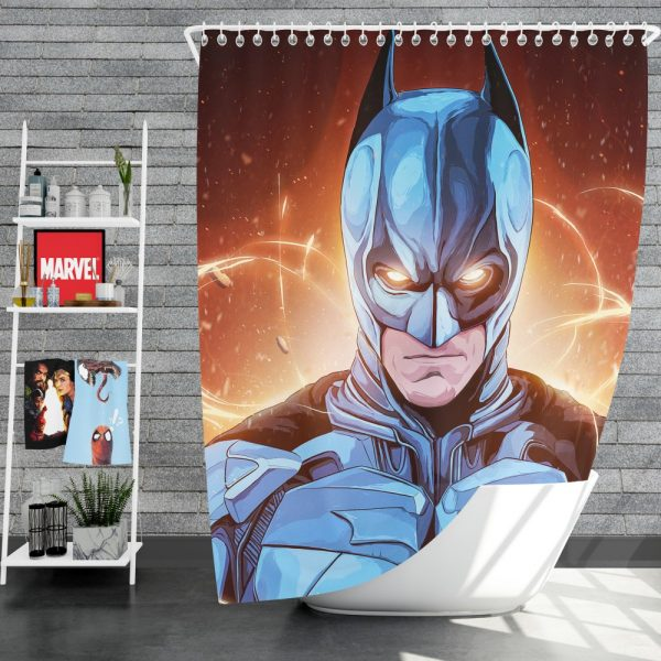 Batman The Dark Knight Movie DC Comics Shower Curtain