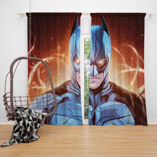 Batman The Dark Knight Movie DC Comics Window Curtain