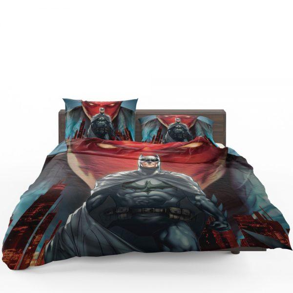 Batman Under the Red Hood Movie Bruce Wayne DC Comics Jason Todd Bedding Set 1