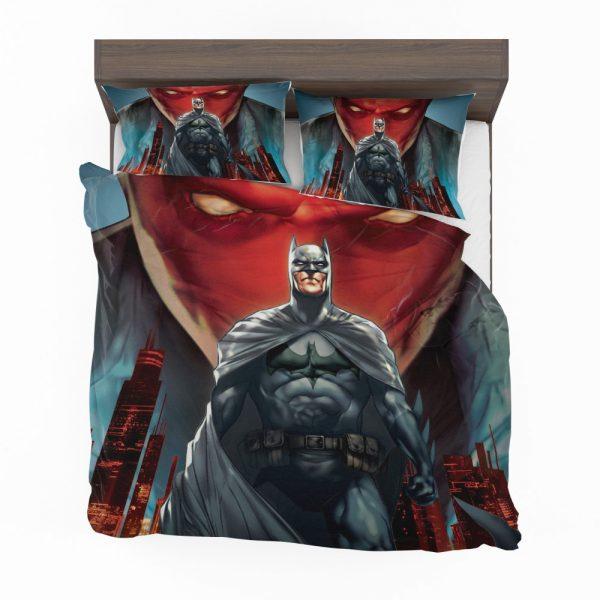 Batman Under the Red Hood Movie Bruce Wayne DC Comics Jason Todd Bedding Set 2