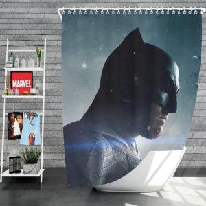 Batman v Superman Dawn of Justice Movie Shower Curtain