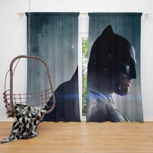 Batman v Superman Dawn of Justice Movie Window Curtain