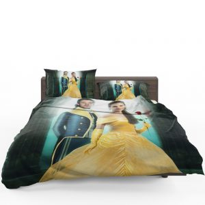 Beauty And The Beast 2017 Movie Emma Watson Bedding Set 1