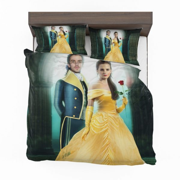 Beauty And The Beast 2017 Movie Emma Watson Bedding Set 2