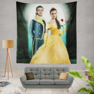 Beauty And The Beast 2017 Movie Emma Watson Wall Hanging Tapestry
